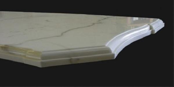 eased edge baseboard
