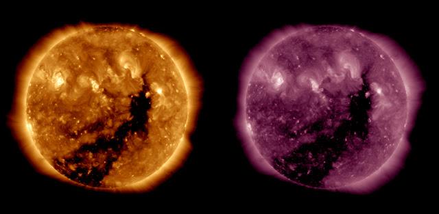 O Sol registrado pelo Observatório SDO