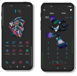 Dark Shadow Tema Realme UI dan Oppo ColorOs Tembus Aplikasi