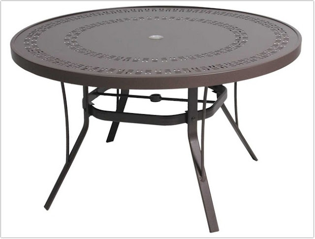 Outdoor Coffee Table With Umbrella Hole