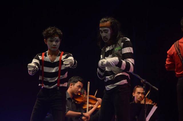 pantomime di sumatera barat-teraSeni