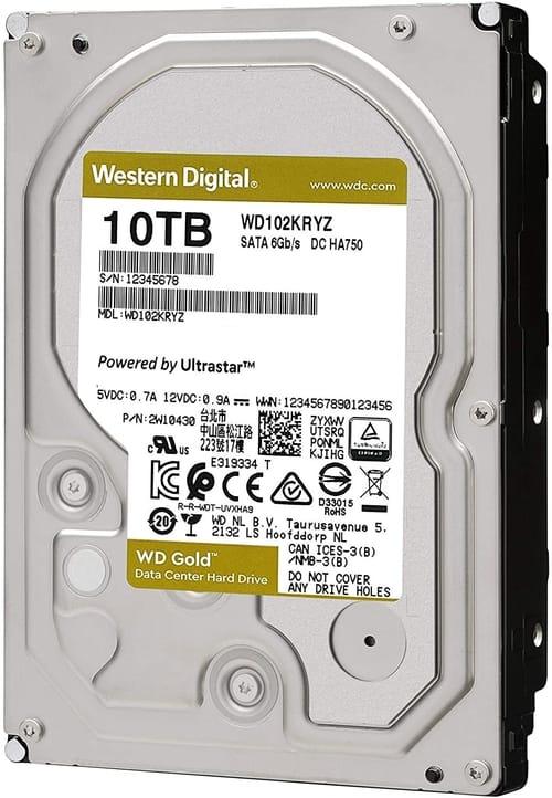 WD 10TB WD Gold Enterprise Class Internal Hard Drive