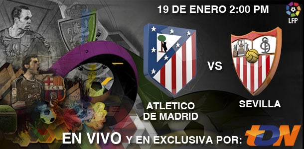 Atlético Madrid vs Sevilla en Vivo