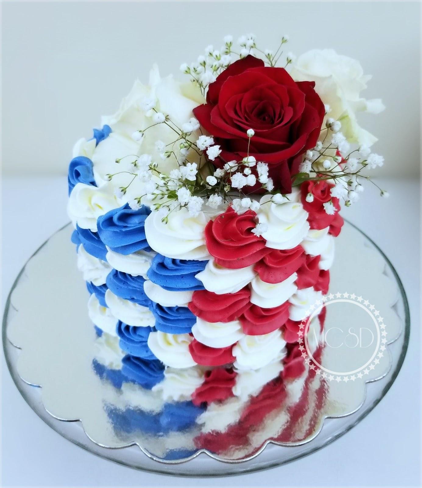 My Cake Sweet Dreams 4th Of July Birthday Cake
