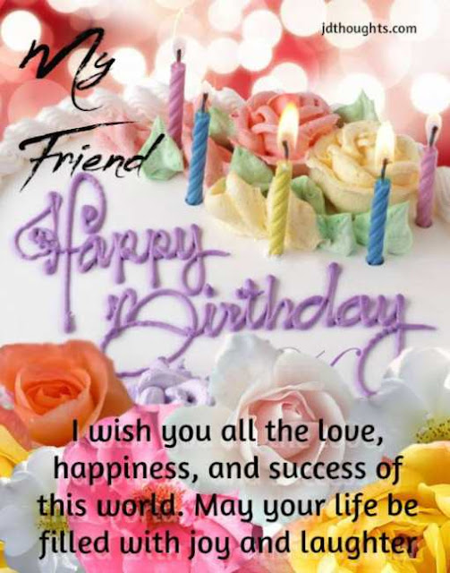 Happy birthday wishes for Friend: message and quotes