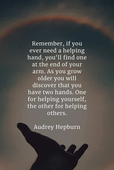 Quote Helping Others : quote, helping, others, Helping, Others, Quotes, That'll, Inspire, Doing, Deeds