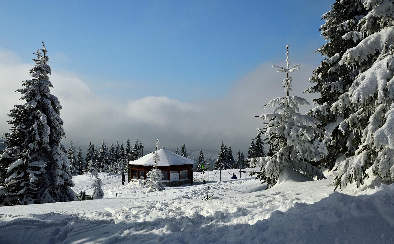 zima, szlak, Jesioniki