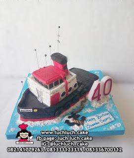 3d Birthday Cake Bentuk Kapal