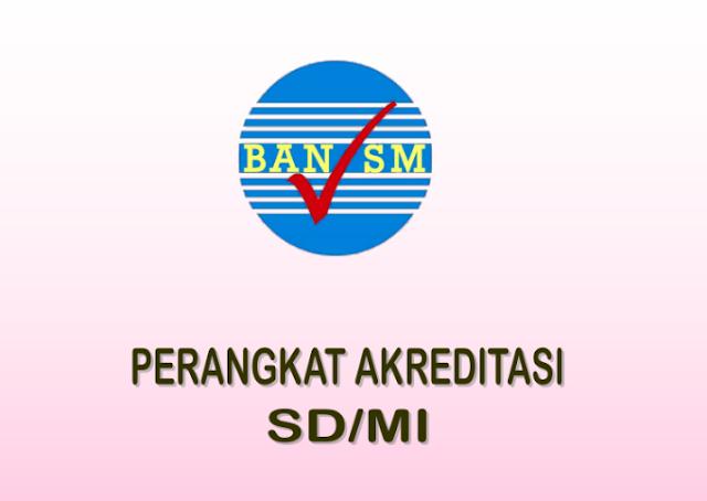Perangkat Akreditasi SD Terbaru