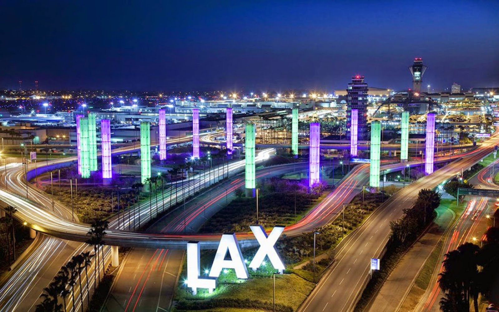 Worlds 10 Busiest airports | Los Angeles International Airport, USA – 67 million passengers each year