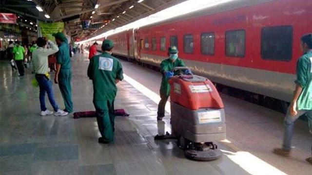 ভারতীয় রেল ৬ লক্ষ ৪০ হাজারেরও বেশি কর্মদিবস সৃষ্টি করেছে দেশের খবর