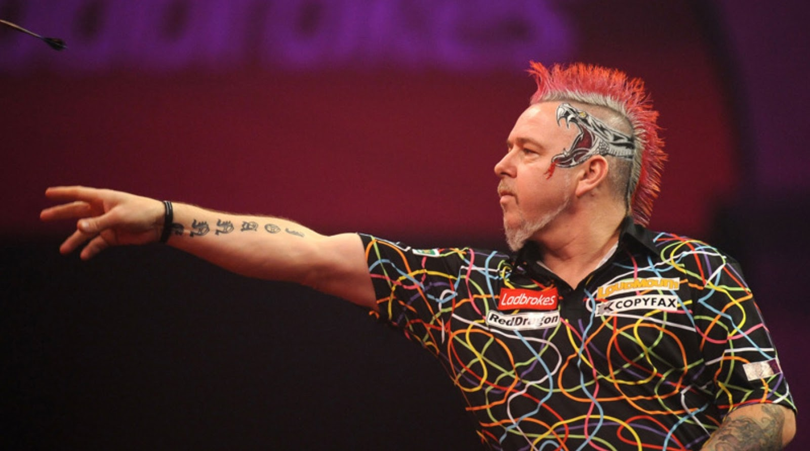how much peter wright earn from darts competition 2017