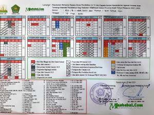 Kalender Pendidikan Provinsi Aceh Tahun Ajaran 2021-2022