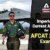 Important Current Affairs for AFCAT 2020 Exam