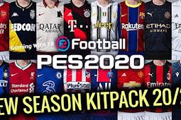 NEW Kitpack Season 2020/2021 V1.8 - PES 2020