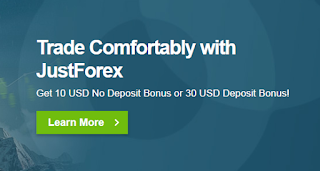 Bonus Forex Tanpa Deposit JustForex $10 - Migrasi ke JustForex