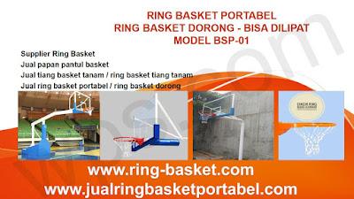 brosur tiang basket portable