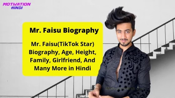 Mr. faisu tiktok star biography in hindi