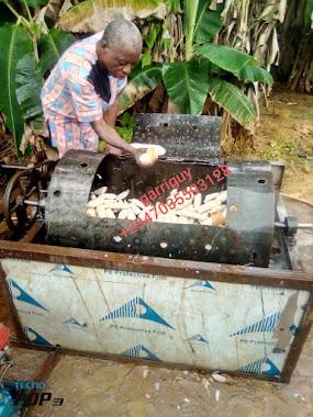 cassava peeling and washing machine