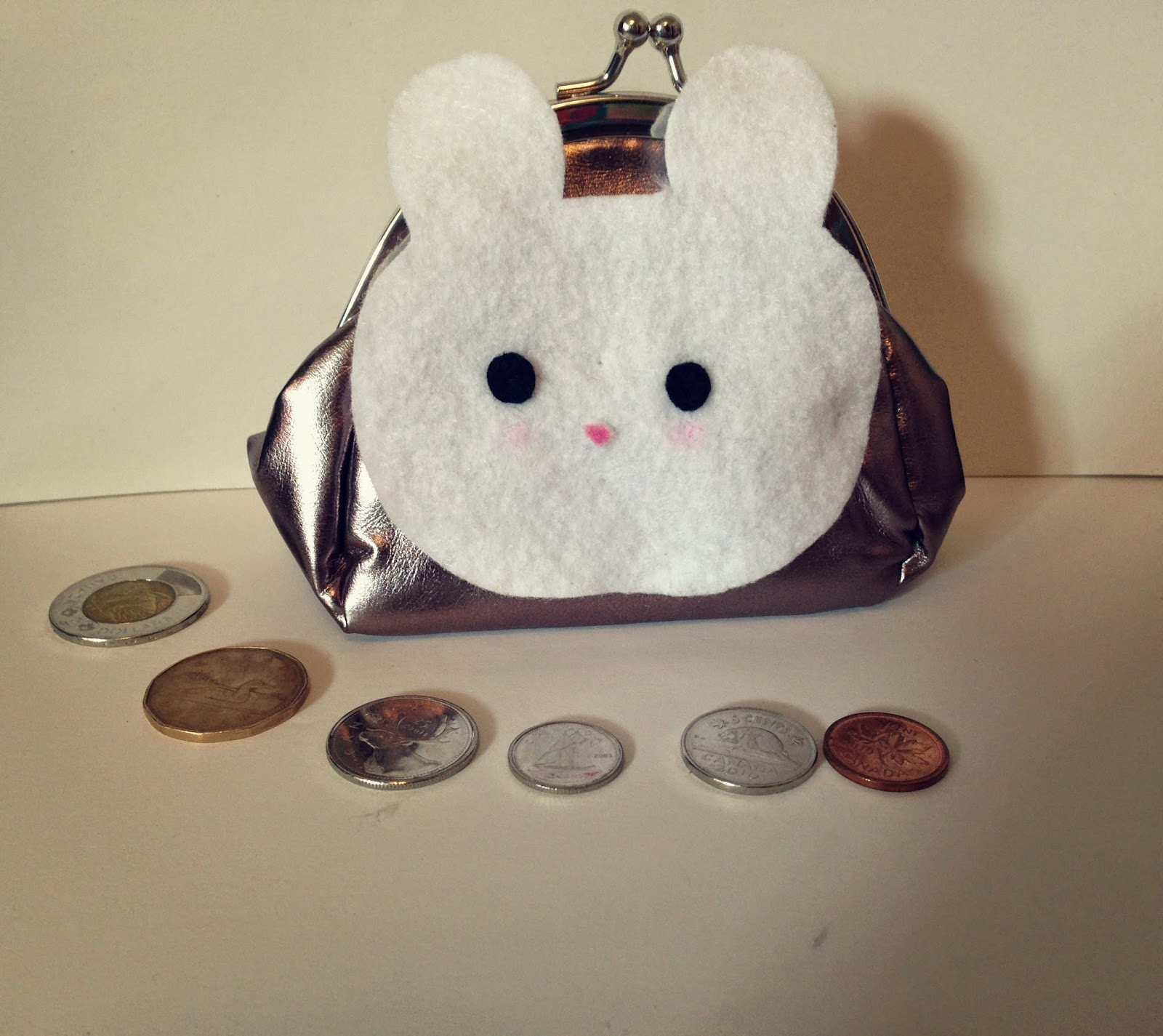 Cute Bunny Coin Purse