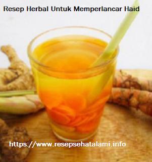 Resep Herbal Untuk memperlancar Haid Secara Alami dan Sehat