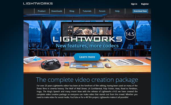 Lightworks software