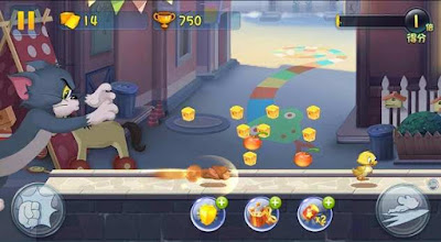 Game Tom And Jerry MOD APK for Android (Unlocked Character)