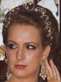 pearl tiara morocco princess lalla salma
