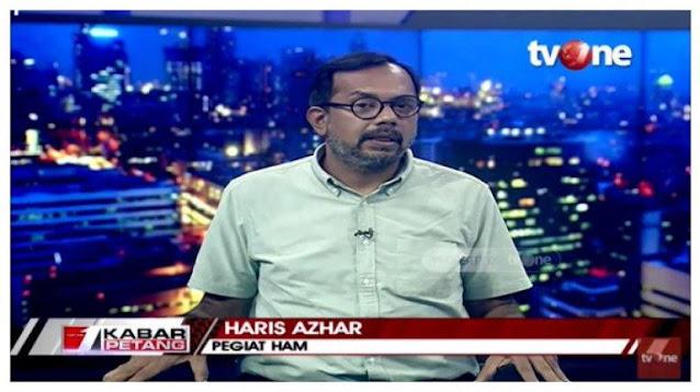 Haris Azhar Tidak Memuji SBY, Hanya Sebut Jokowi Lebih Buruk