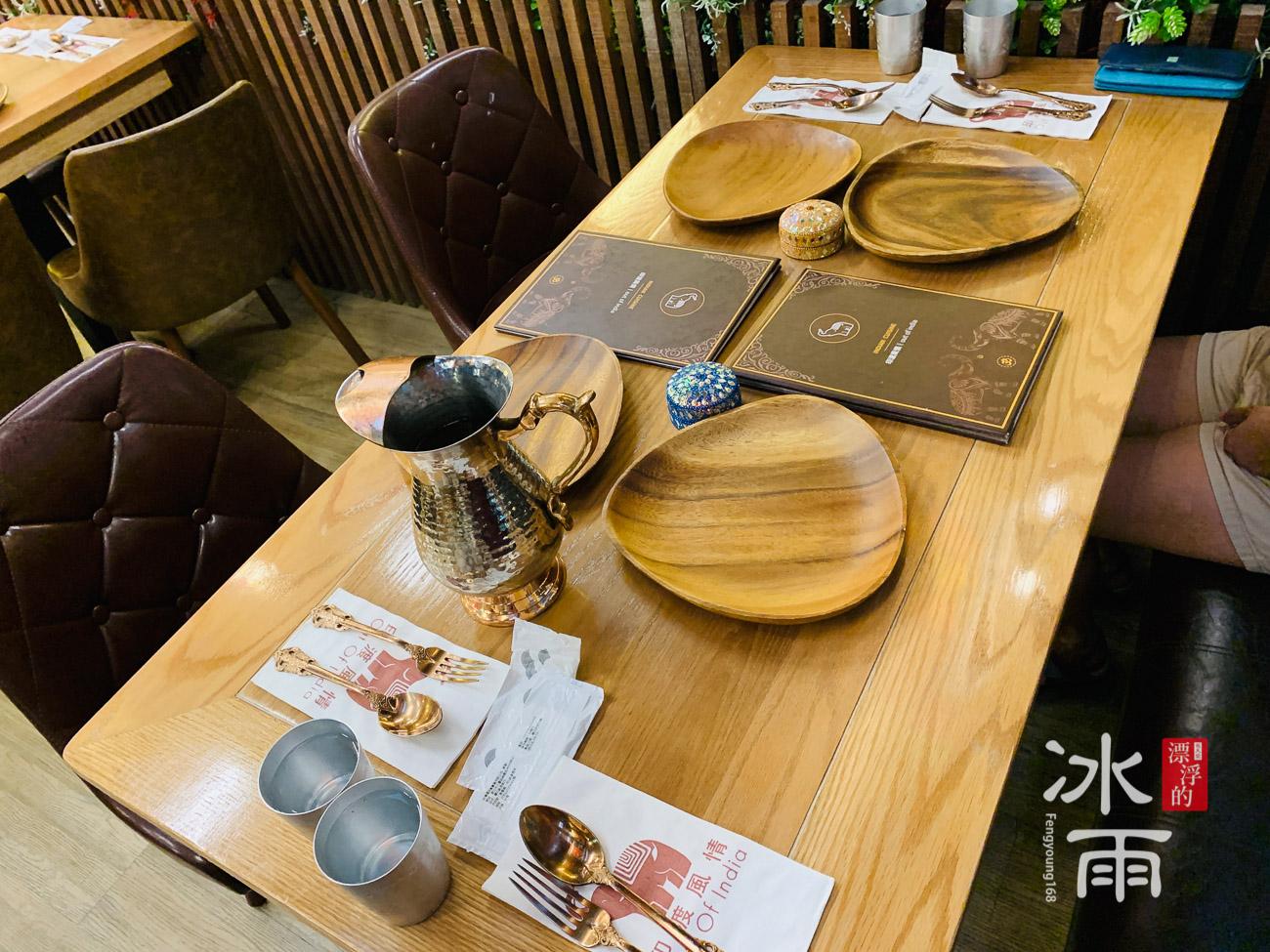 印渡風情|印度料理餐廳|餐桌一景