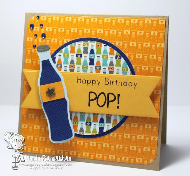 SugarPea Designs: Happy Birthday POP