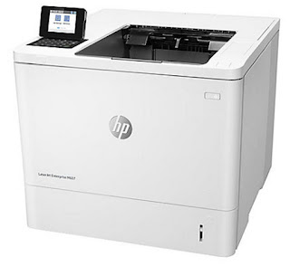 printer amongst JetIntelligence consolidates outstanding execution in addition to vitality effectivenes HP LaserJet Enterprise M607dn Drivers Download