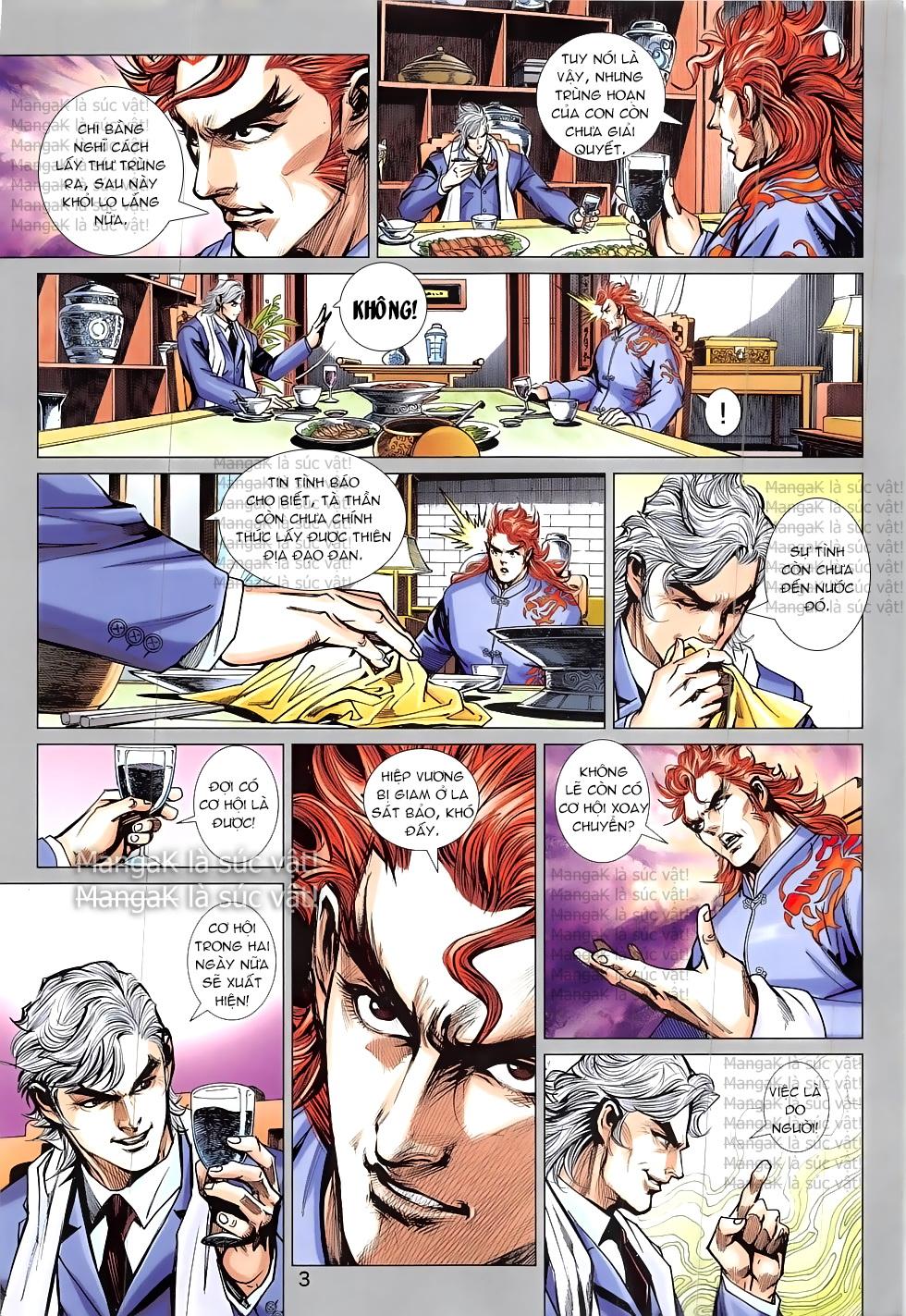 Tân Tác Long Hổ Môn Chap 824 page 3 - Truyentranhaz.net