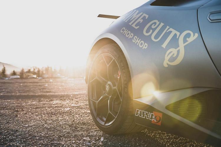 Ngắm bản độ Lamborghini Huracan Performante Alpha siêu mạnh