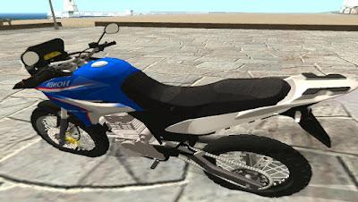 Mod Moto Honda XRE 300 OneFlex para GTA San Andreas, GTA SA