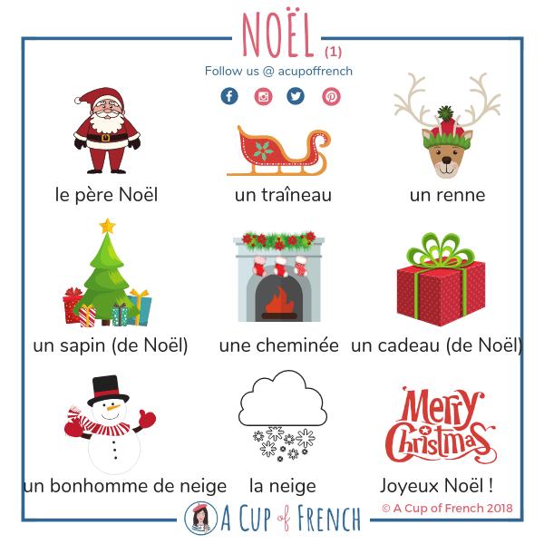 Święta Bożego Narodzenia #2 - słownictwo 28 - Francuski przy kawie