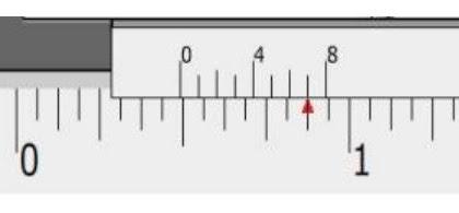 Cara Membaca Jangka Sorong ( Vernier Califer ) Skala 1/128 Inchi
