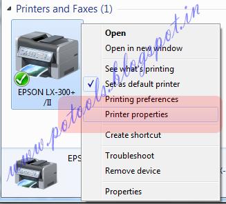 Meghdoot Epson LX 300+/II Slow Printing @ Windows 7/2008 - PoTools