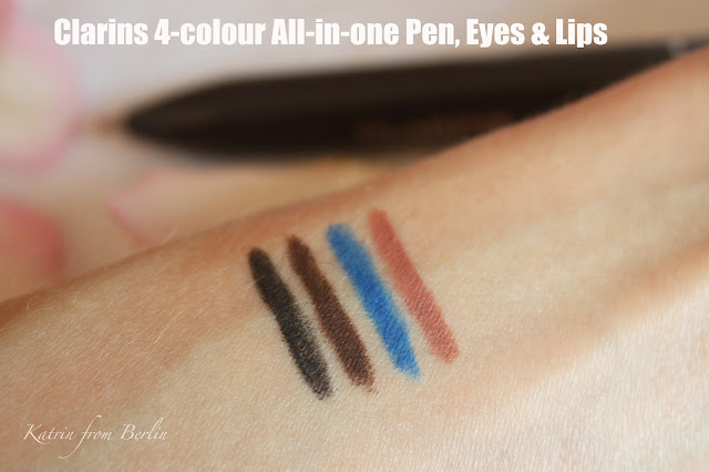 Clarins 4-colour All-in-one Pen, Eyes & Lips spring 2017 makeup