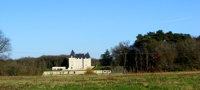 Chateau du Bois d'Aix.  Indre et Loire, France. Photographed by Susan Walter. Tour the Loire Valley with a classic car and a private guide.