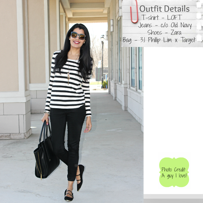 styledelights lookbook casual spring stripes