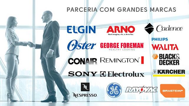 PARCERIA COM GRANDES MARCAS