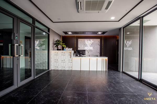 Amata Residence อมตะเรสซิเด้นท์ อพาร์ตเม้นท์ 8 ชั้น บ่อวิน ศรีราชา ชลบุรี