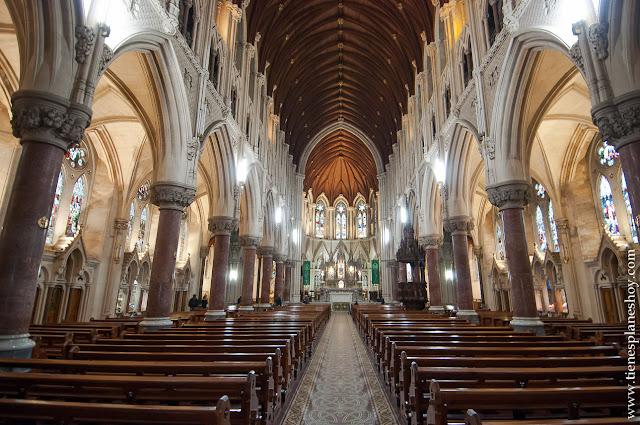 Interior Catedral de Cobh Condado de Cork Irlanda
