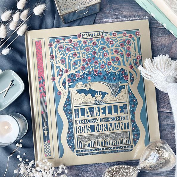 La Belle au bois dormant illustré par Charlotte Gastaut