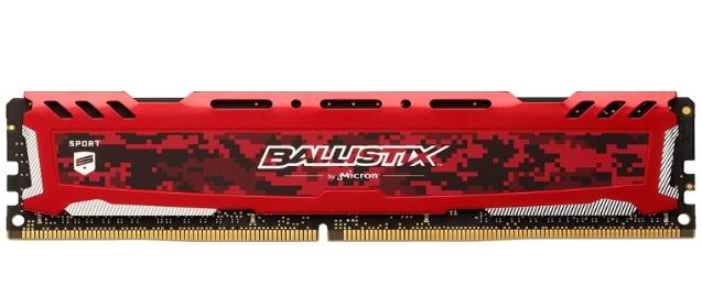 Best Gaming RAM Ballistix Sport LT DDR4 Memory Kit