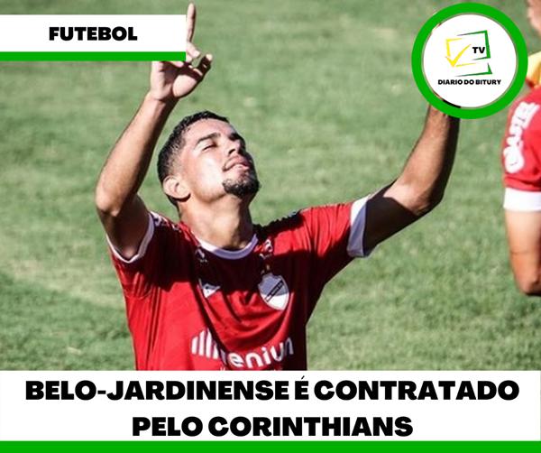 Belo-jardinense é contratado pelo time do Corinthians
