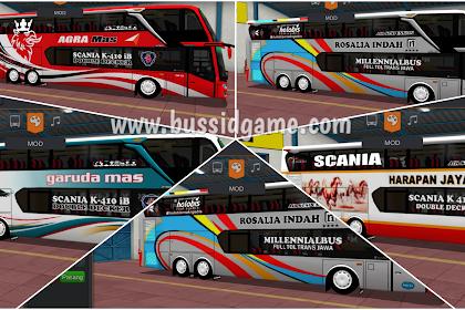 Koleksi Livery Mod Bus JB3+ SDD MD Creation By Blahbloh