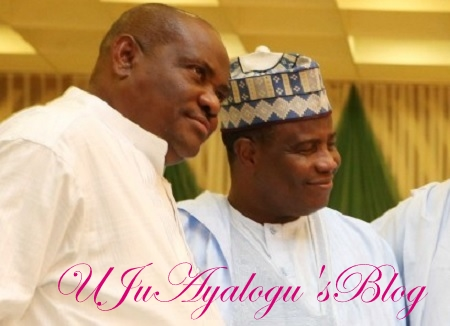 2019: APC's Gov. Tambuwal Linked With PDP Presidential Race Meets Wike, Ibori, Okowa In Delta