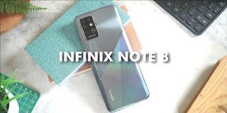 Rekomendasi HP 2 Jutaan 2021 Infinix Note 8